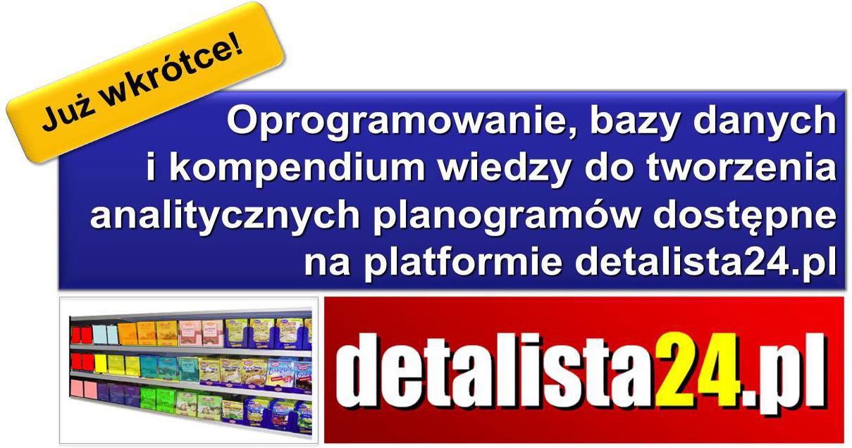 WKRÓTCE RUSZAMY! www.detalista24.pl